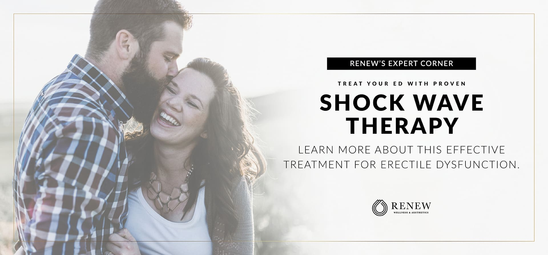 Shock Wave Therapy for ED Proven, Effective Treatment for Erectile Dysfunction – Available at Renew